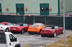an alfa romeo 8c with the general lee paint scheme... something is wrong about that