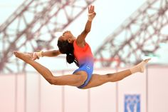 Gabby Douglas--shes so awesome! And she's pretty cute :)