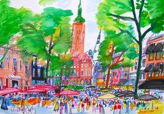 Grote Markt Den haag Guus van Eck