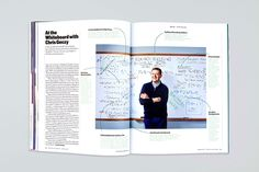 Wharton Magazine: Whiteboard, a department in the Ideas section that looks at economic theory.