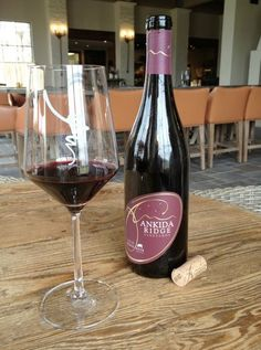 """Ankida Ridge Pinot Noir. Voted one of """"Virginia's To Picks"""", to pair with the evenings meal."""