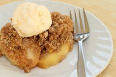 Cinnamon-Apple Walnut Saute a la Mode