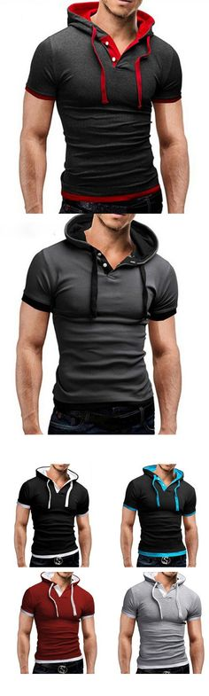 Men's Sports Casual/Daily Simple Active Summer T-shirt