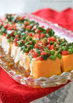 Marinated Cheese Appetizer - low carb recipe