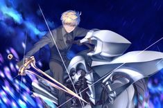 Pinterest Fate Zero, Fate Stay Night, Arturia Pendragon, Fate Characters, Fate Servants, Fate Anime Series, Comic Pictures, Type Moon, King Arthur