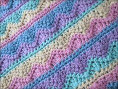 Free Crochet Baby Blanket Pattern. ~k8~
