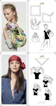 Usos de pañuelos #1