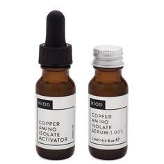 NIOD Copper Amino Isolate Serum 1.00% 15 ml product smear.