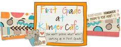 First Grade at Klinger Cafe'