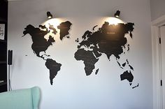 90 best wooden world map images on pinterest on sale travel lover gift wall world map wooden big map of the world canvas art traveler wanderlust home decor gift for girlfriend boyfriend gumiabroncs Gallery
