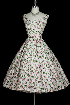 1950's dress. My heart nearly stopped when I saw it because I love it so much!