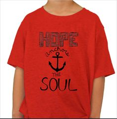 ANCHOR your hope to HopeKids - available until 8/23!!