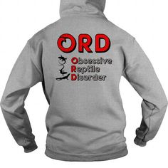 I Love Obsessive reptile disorder back 0916 Shirts & Tees