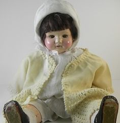 Effanbee Rosemary Doll Cloth & Composition 20 inches