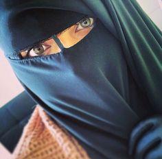 alhamdullilahforeverything:  Niqab på We Heart It.
