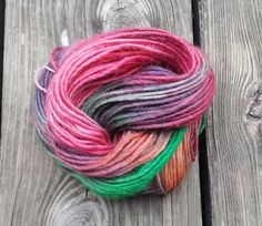 OOAK Soy and Wool Yarn by twistedfate on Etsy, $10.00