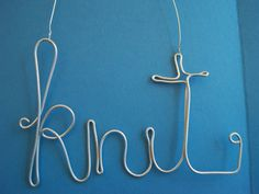 KNIT wire word
