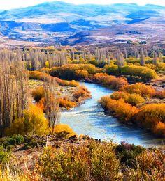 Río Aluminé - Aluminé - Neuquen. Argentina