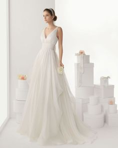 Rosa Clara wedding dress 2014 bridal Cantabria A little less full, and sure!
