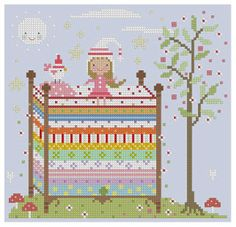 Fairy Tale Cross Stitch Series for a nursery?