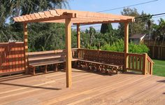 Building+A+Pergola+Over+A+Patio | Los Angeles Wood Pergolas, Patio Covers, Arbors & Beautiful Trellises