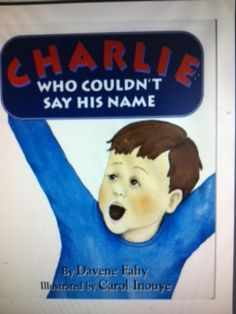 CHARLIE WHO COULDN'T SAY HIS NAME is now available free online in PDF format.