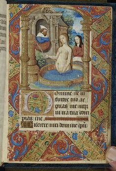 Book of hours (MS M.1161). Paris, France, ca. 1500. http://ica.themorgan.org/moved.asp