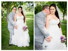 Banff / Canmore / Lake Louise /Calgary / Rocky Mountain Wedding Photographer, bride and groom portrait, Pinebrook Golf Course, www.kimpayantphotography.com
