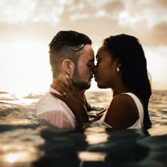 Incredibly sexy interracial couple photography #love #wmbw #bwwm #swirl #biracial #mixed #lovingday #relationshipgoals #favorite ❤
