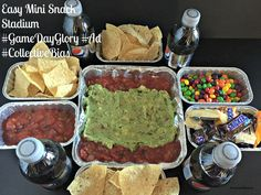 Easy Mini Snack Stadium #GameDayGlory #Ad #CollectiveBias