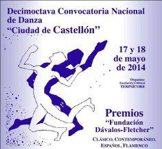 Premios Ciudad de Castellón de Danza 2014 Ecards, Memes, Door Prizes, Cities, Activities, E Cards, Meme
