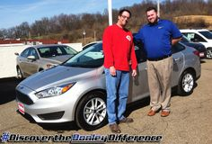 """""""Return customer! Donley Ford did me right, AGAIN!"""" We hope you enjoy your NEW 2017 Ford Focus James! #DiscoverTheDonleyDifference"""