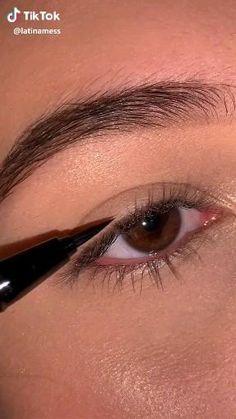 Eye Makeup Steps, Eye Makeup Art, No Eyeliner Makeup, Makeup Kit, Makeup Inspo, Fancy Makeup, Simple Makeup, Eyeshadow Techniques, Pretty Makeup Looks