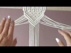 Micro Macrame Tutorial, Macrame Bracelet Tutorial, Macrame Bracelets, Weaving Wall Hanging, Macrame Design, Macrame Projects, Macrame Knots, Macrame Patterns, Craft Gifts