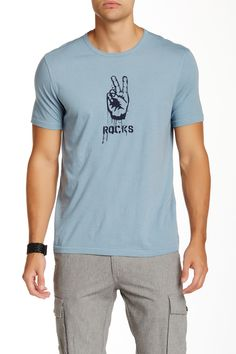 Star USA By John Varvatos | Peace Rocks Graphic Tee | Nordstrom Rack