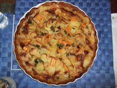 Kartoffelauflauf vegetarisch und laktosefrei