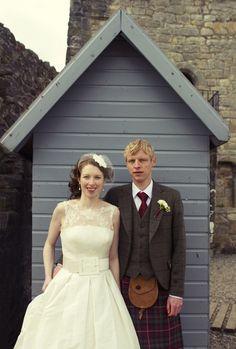 Scottish wedding Love.