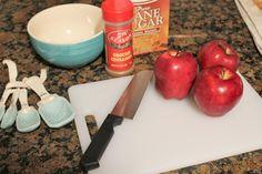 Easy 2 Minute Cinnamon Apple Dessert