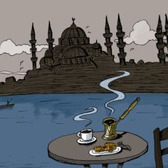 Turkish cuisine is the result of the region's seasonal products and a nomadic diet, combined with a variety of influences from the surrounding regions. Turkish Recipes, Yogurt, Food To Make, Turkey, History, Cooking, Eggs, Lifestyle, Kitchen
