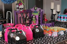 Monster High Fearleading Camp Birthday Party Ideas | Photo 8 of 23 | Catch My Party