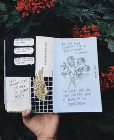 Insanity  // art journal, journal, journal inspiration, aesthetics, halsey lyrics, gasoline by halsey, fangirl, writers, teen artist, drawing, illustration, tumblr //