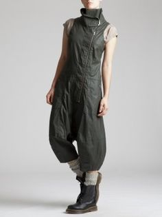 RESIN COTTON LYCRA JUMPSUIT...syngman cucala