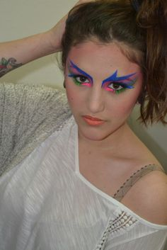 Maquillage années 80  En attendant je vis donc je suis: Le blog de S.G.Woman