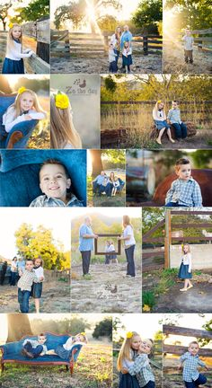 perfect {what to wear} family photo session
