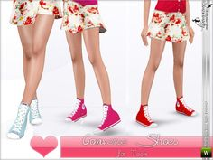 Simsimay's Converse for Teens