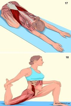 18 Pictures That Show You Exactly What Muscles you are Stretching - Our Fitness Queen Fitness Workouts, Yoga Fitness, Fitness Tips, Health Fitness, Physical Fitness, Kids Fitness, Fitness Memes, Fitness Outfits, Fitness Motivation