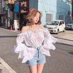 Cute skirt outfits, cute teen outfits, cute outfits for school, cute Korean Girl Fashion, Korean Fashion Trends, Korean Street Fashion, Korea Fashion, Cute Fashion, Asian Fashion, Fashion Outfits, Ulzzang Fashion Summer, Fashion Guide