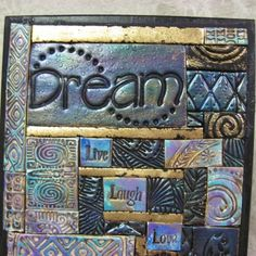 I Want To Learn Do This Tile Craftsblue Mosaicclay