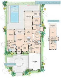 Floorplan Isabella 2 Story New Construction Home By London Bay Homes, At  Mediterra,