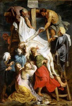 La Descente de Croix // Vers 1617 // Peter Paul Rubens // Palais des Beaux-Arts…